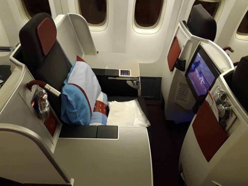 Business Class von Stockholm nach Bangkok mit Austrian Airlines