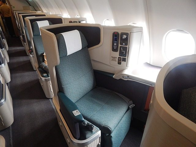 Business Class Cathay Pacific A330