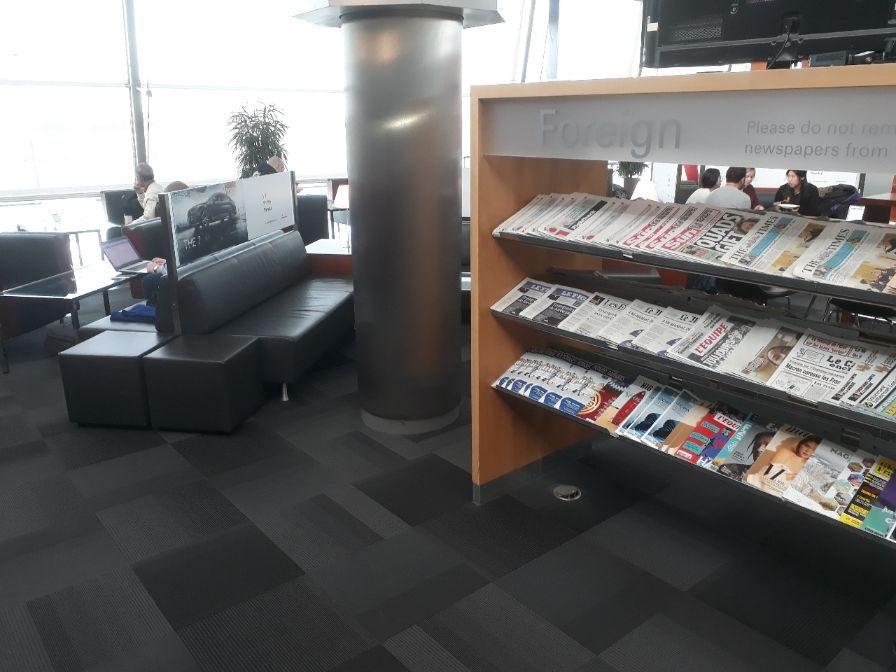 Zeitschriften Hamburg Airport Lounge