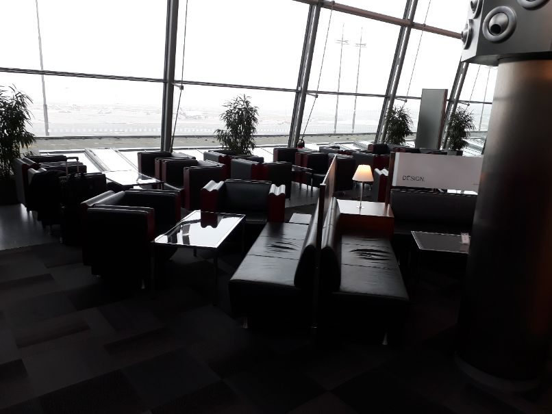 Ausblick Hamburg Plaza Lounge