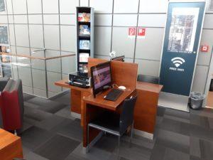 Hamburg Plaza Lounge Arbeitsbereich