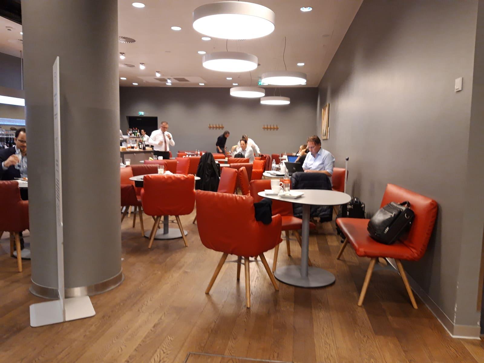 Austrian Airlines Senator Lounge Wien