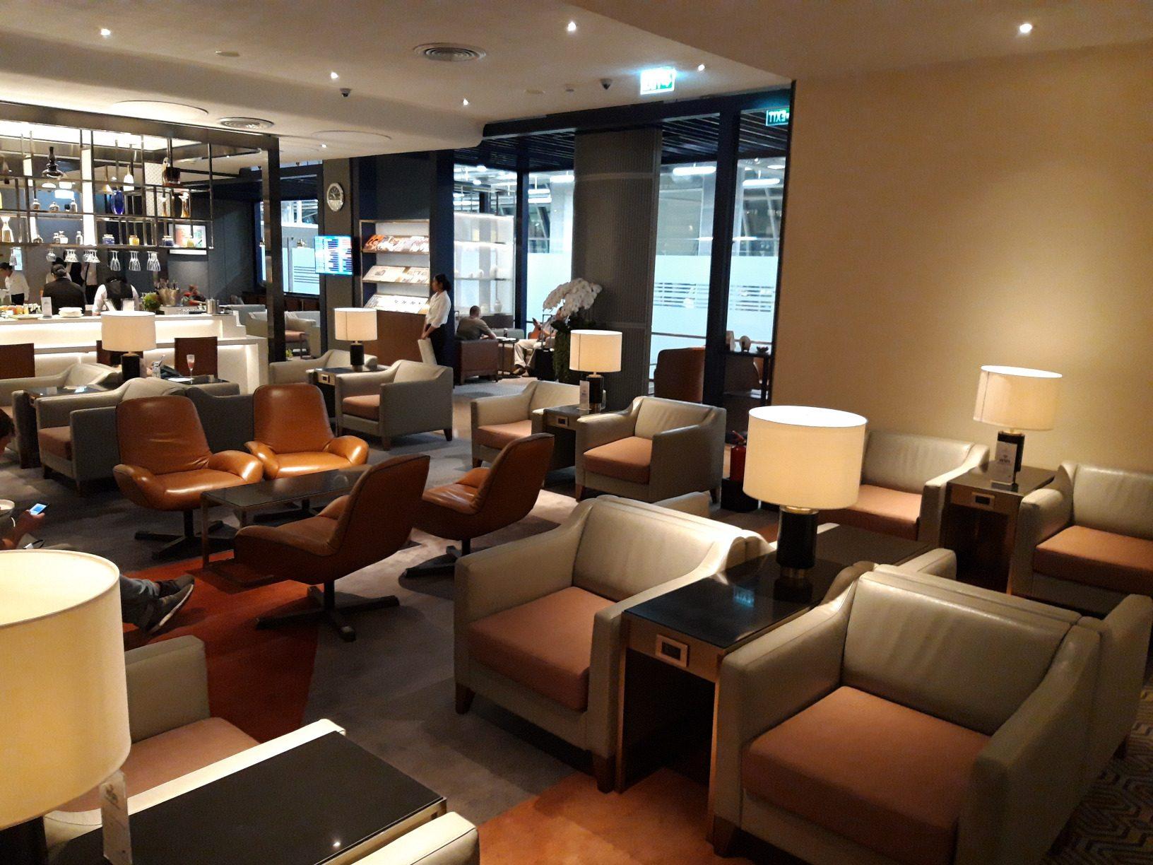 Krisflyer Lounge Bangkok, Bestuhlung