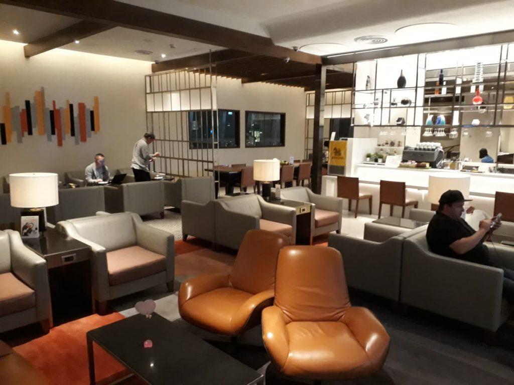 Silverkris Lounge Bangkok Loungebereich