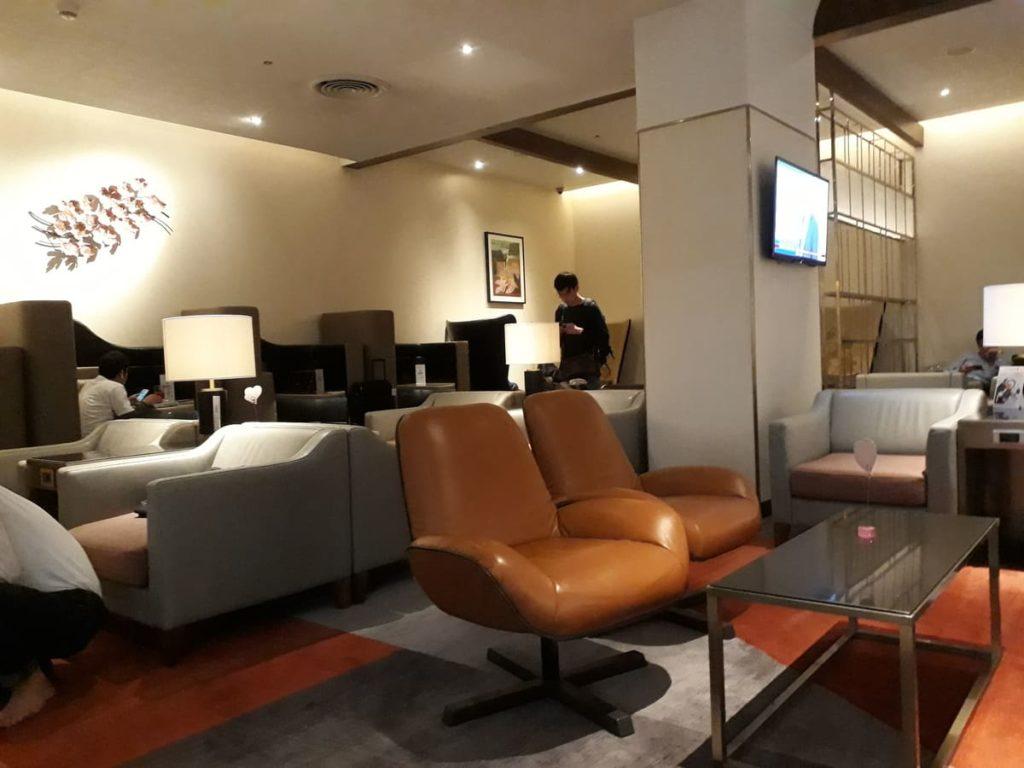 Silverkris Lounge Bangkok Loungesessel