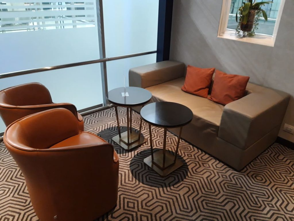 Silverkris Lounge Bangkok Sitzecke