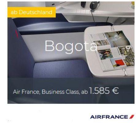 Air France Business Class Deals
