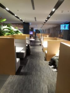 Air France/KLM Sky Lounge Bangkok Loungebereich