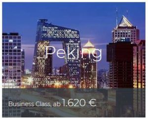 Business Class Deals Peking