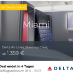 Aktuelle Business- Class Deals Lufthansa, Singapore, KLM, Turkish