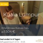 Etihad Business Class Angebote