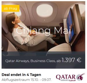 Qatar Airways Business Class Deals