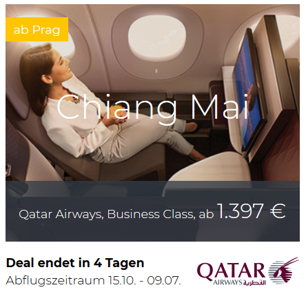 Qatar Airways Business Class Deals