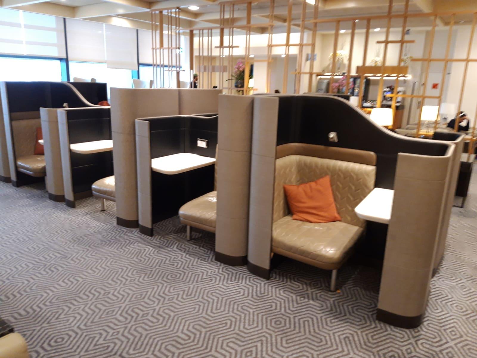 Privatsphäre Silverkris Lounge London