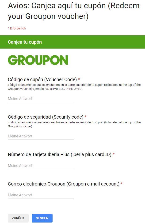 Avios kaufen bei Groupon.es