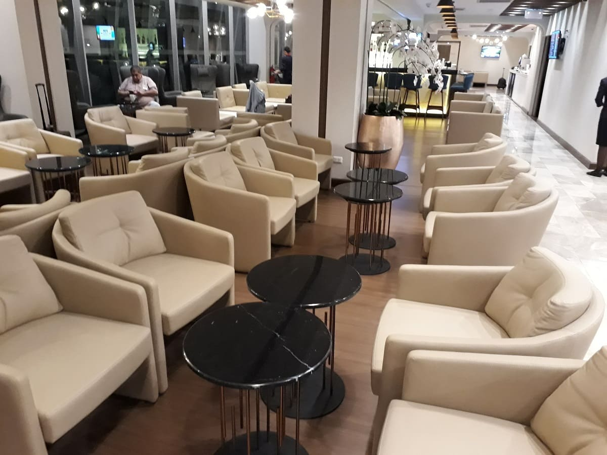 Turkish Airlines Lounge Bangkok Loungebereich