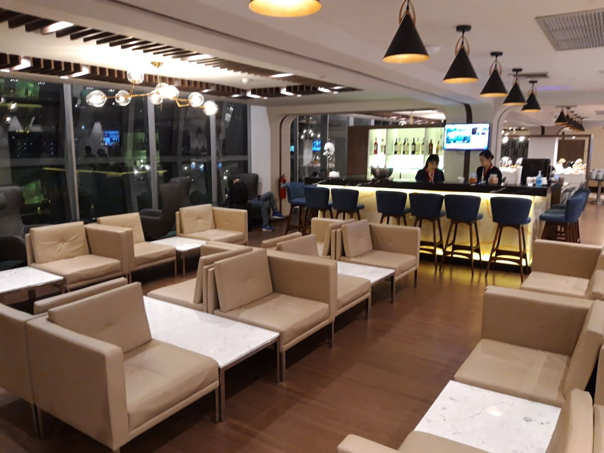 Turkish Airlines Lounge Bangkok Bar