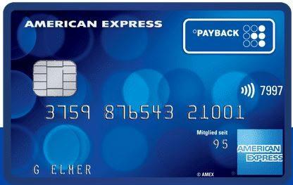 AMEX Payback Kreditkarte