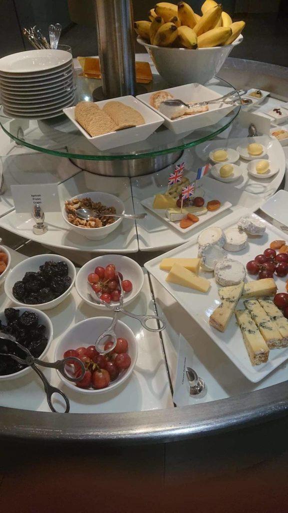 Emirates Lounge London Buffet
