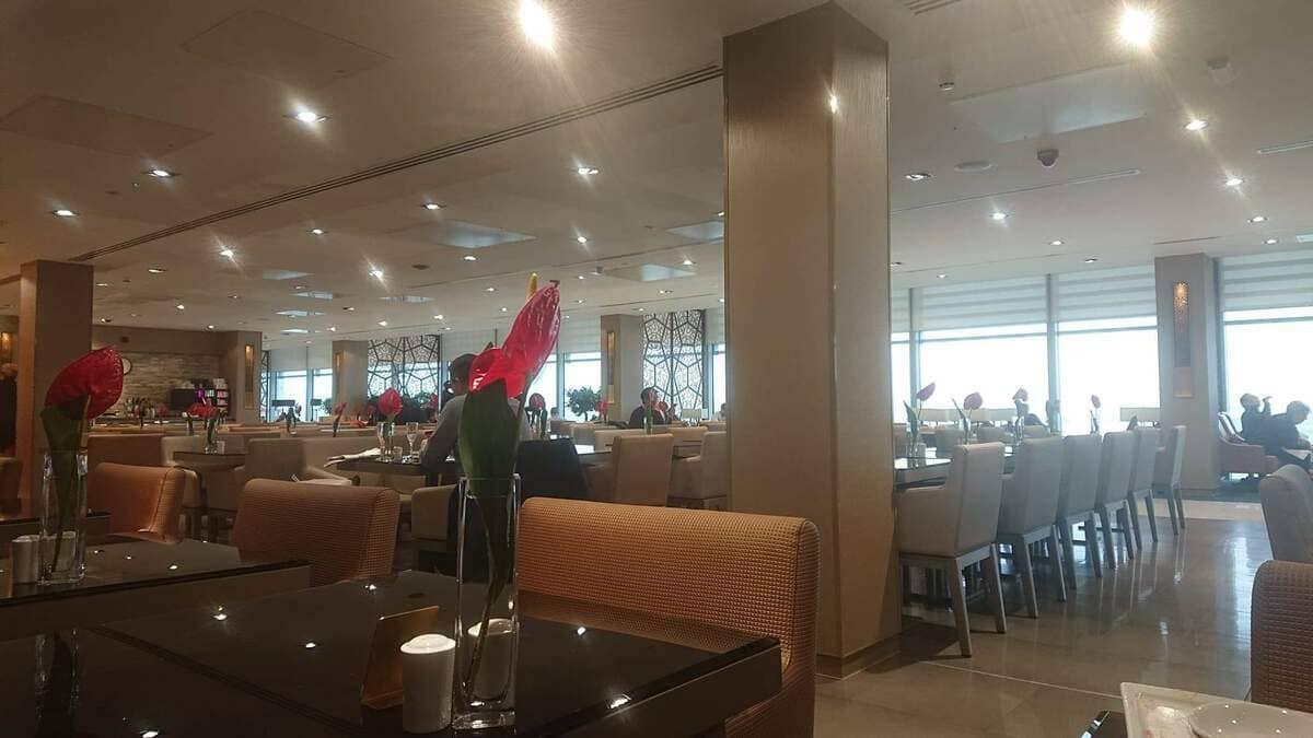 Emirates Lounge London Heathrow