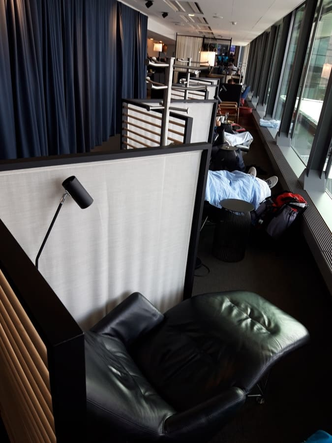 SAS Gold Lounge Stockholm, Ruhebereich