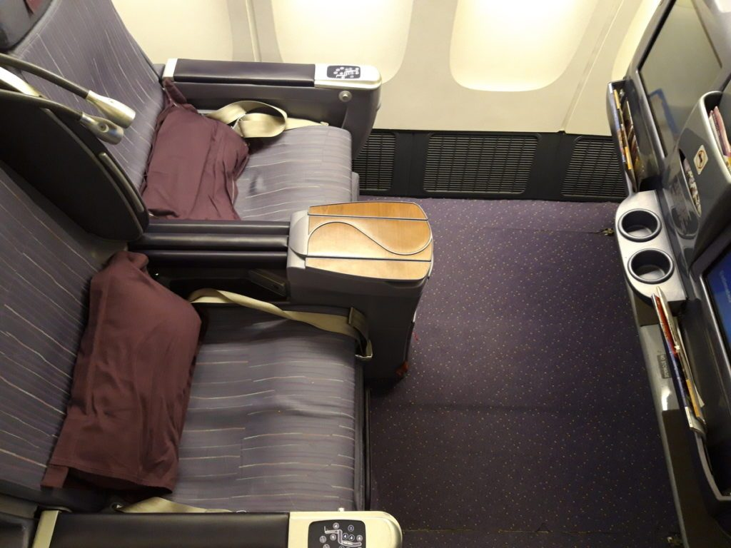 THAI Airways Business Class B777-300