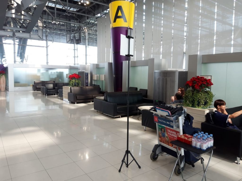 THAI Check In für First und Business Class