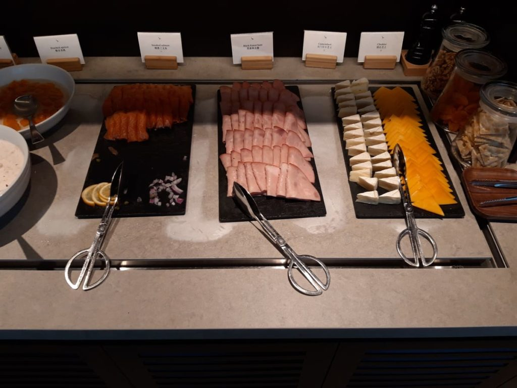 Cathay Pacific Lounge Shanghai Buffet