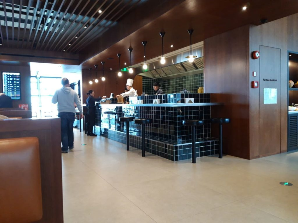 Cathay Pacific Lounge Shanghai Noodle Bar