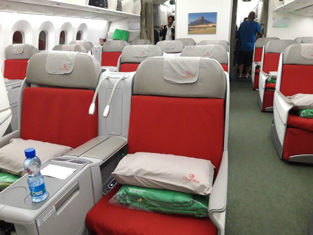 Ethiopian Airlines B787 Business Class