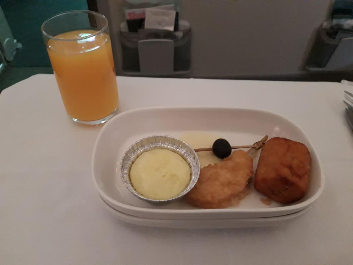 Ethiopian Airlines Snack