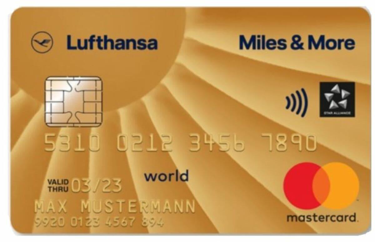 Miles&More Gold Kreditkarte