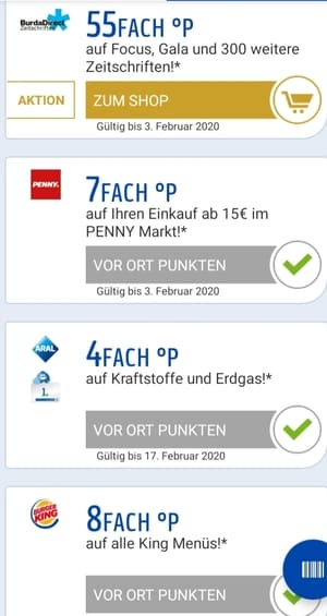 Miles & More Meilen sammeln mit Payback Coupons