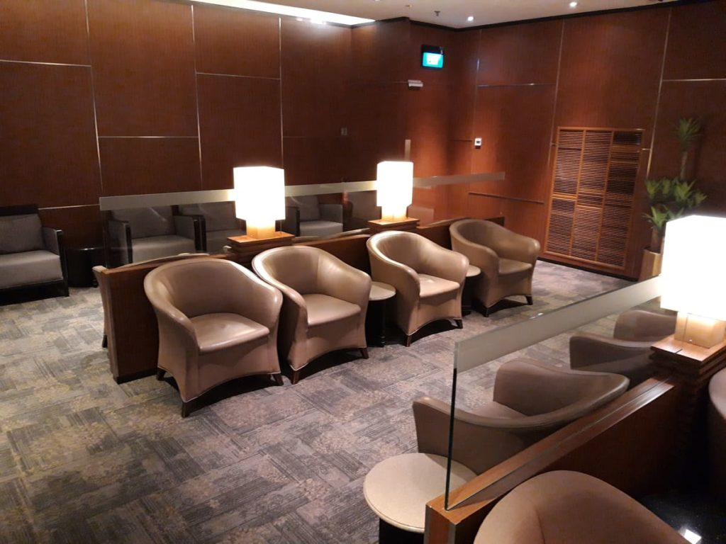 Silverkris Gold Lounge Singapur Changi