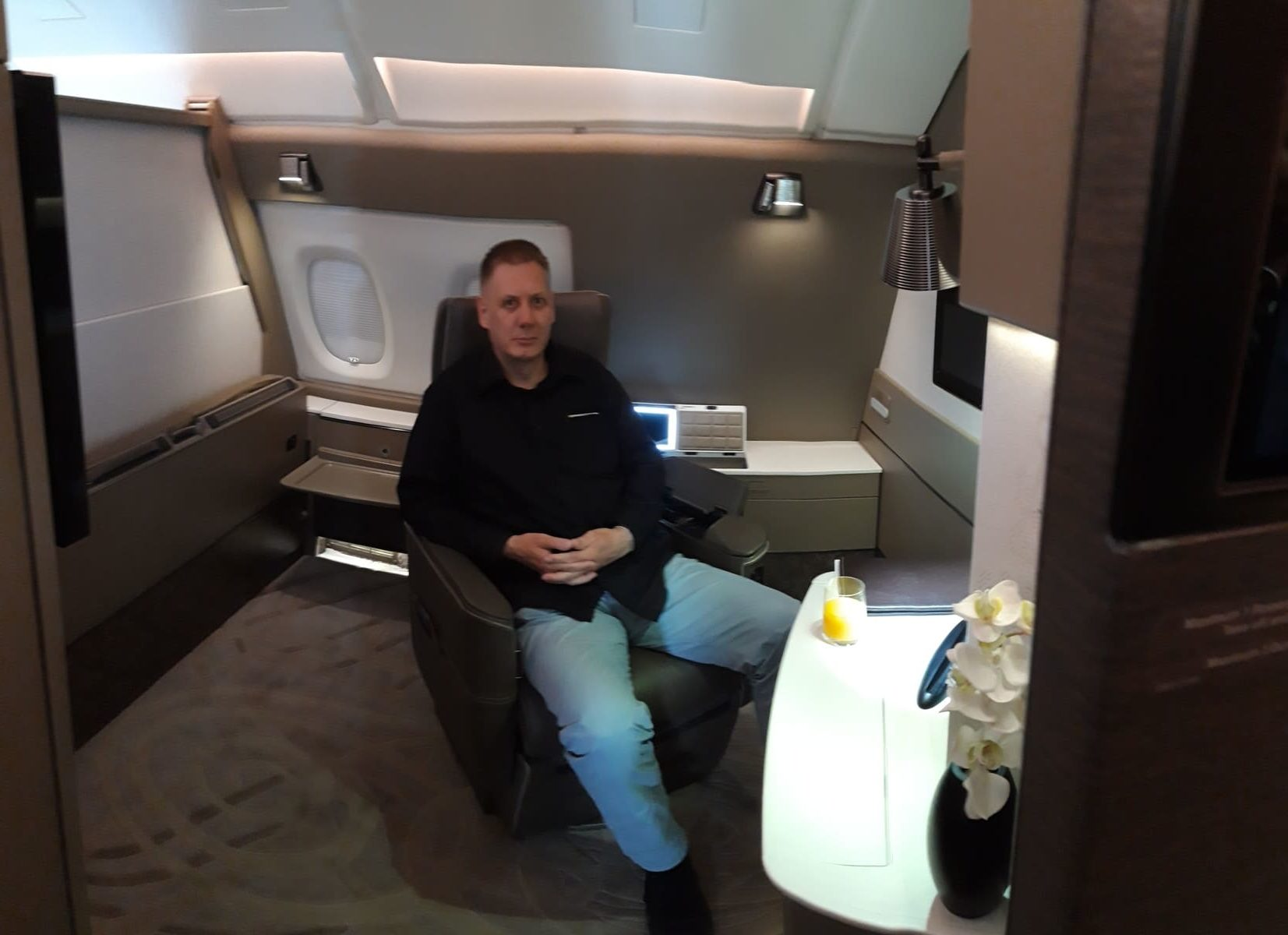 Singapore Airlines First Suites
