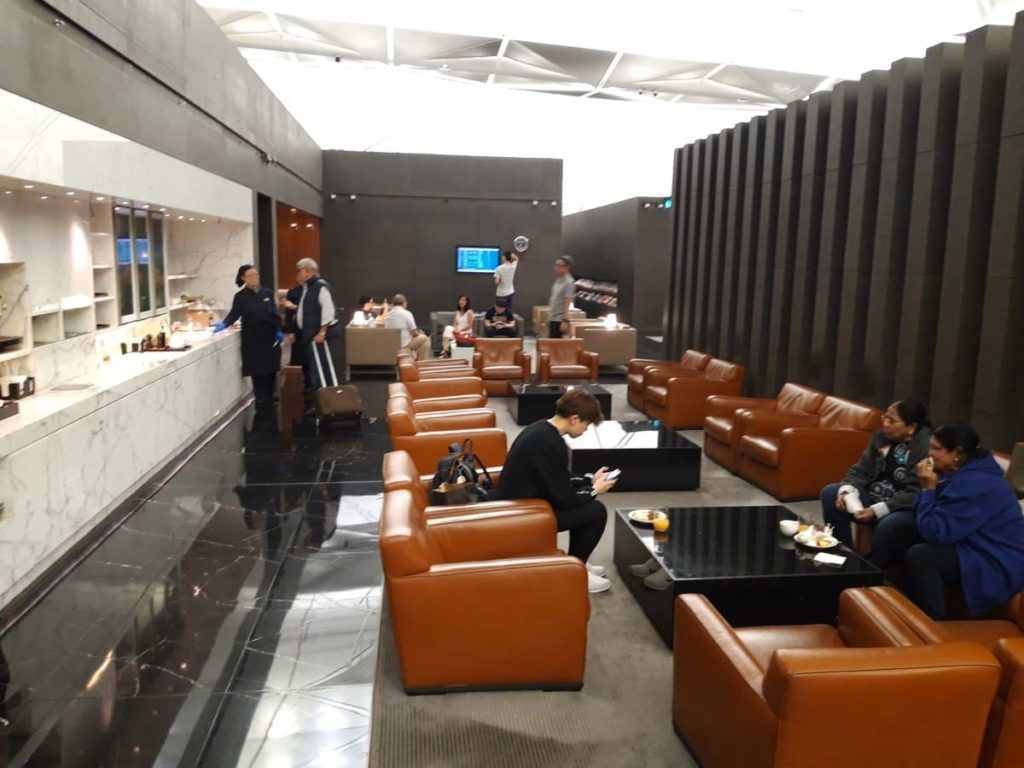 Cathay Pacific Lounge The Wing Hongkong