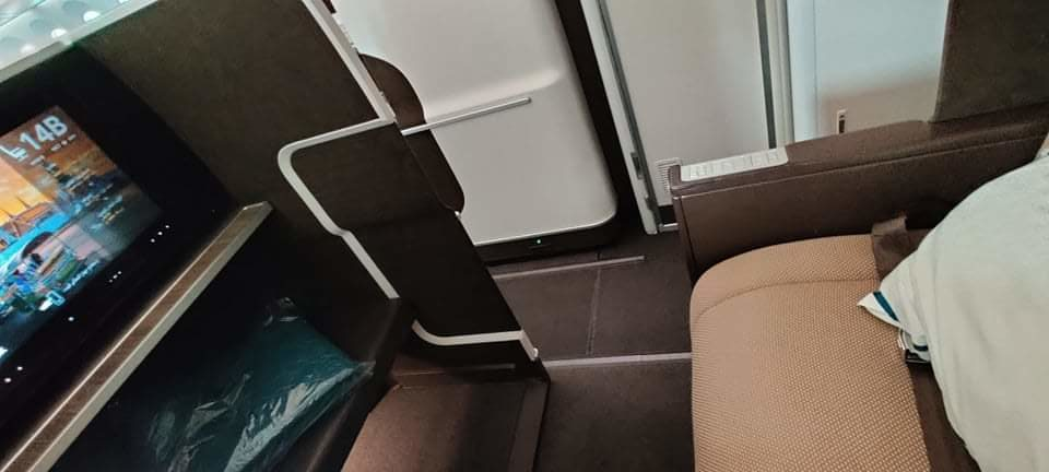 Oman Air Business Class Suite