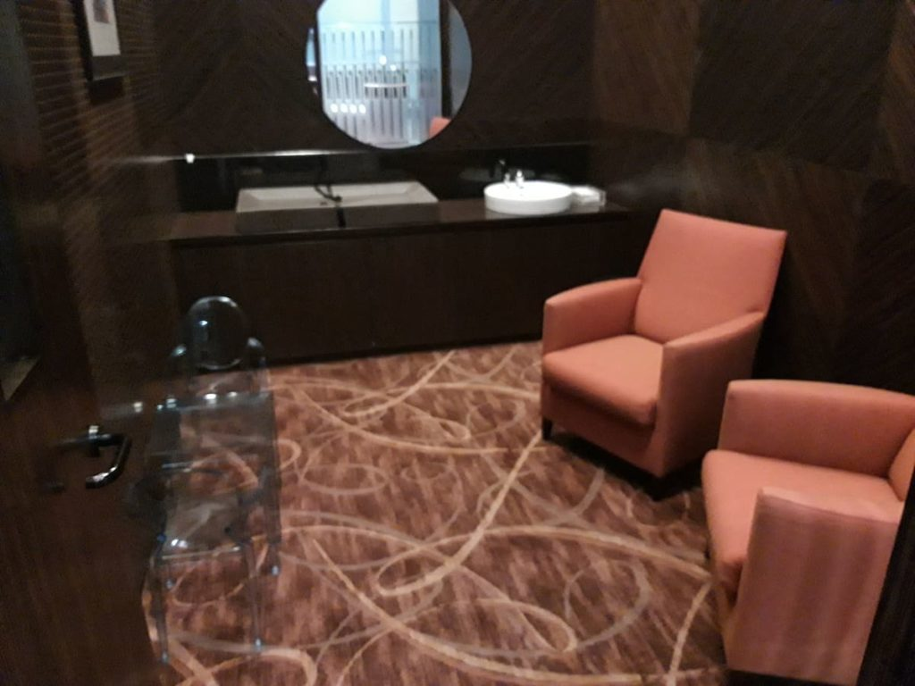 Singapore Airlines First Class Private Room Spielzimmer