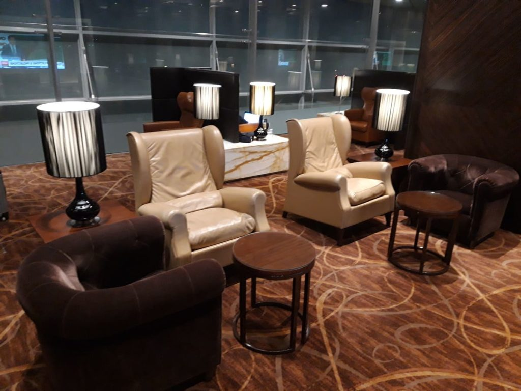 Singapore Airlines First Class Private Room