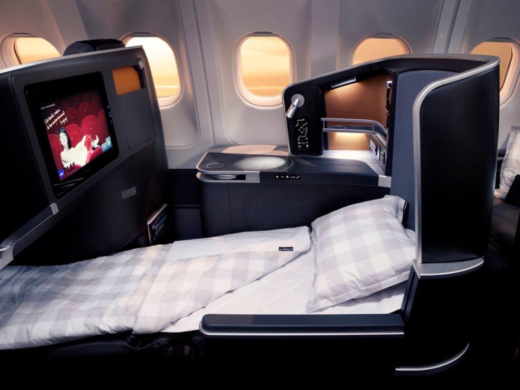 SAS Business Class A350
