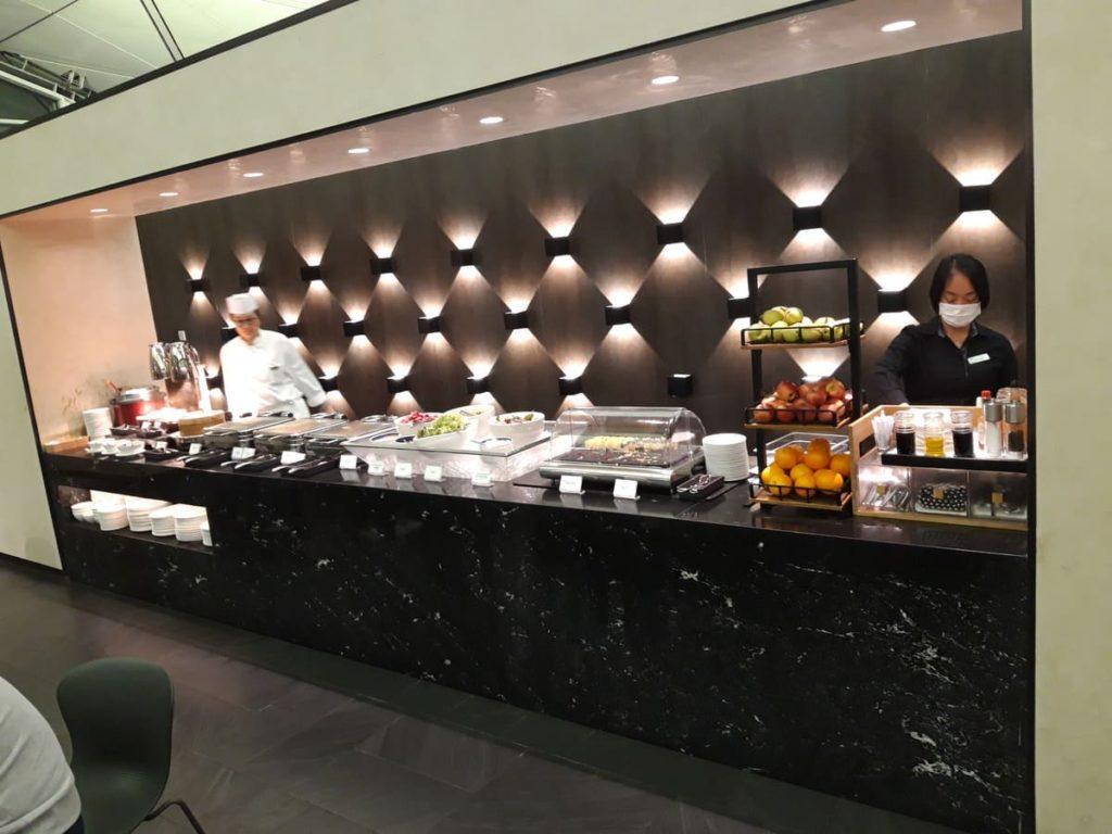 AMEX Centurion Lounge Hongkong Buffet