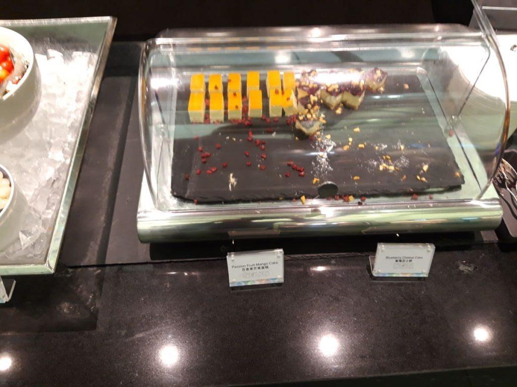 AMEX Centurion Lounge Hongkong Dessert