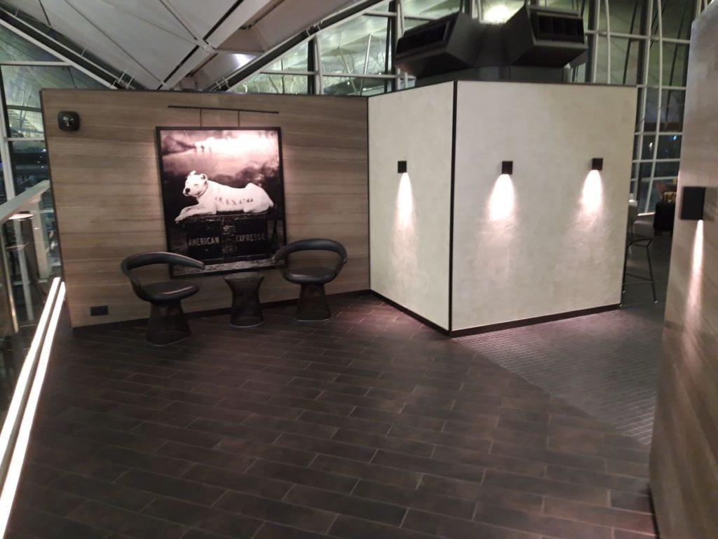 AMEX Centurion Lounge Hongkong Eingangsbereich