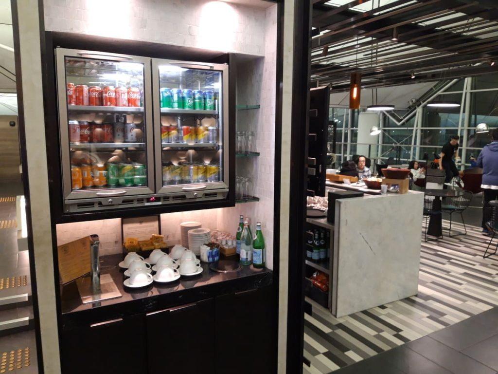 AMEX Centurion Lounge Hongkong Getränke