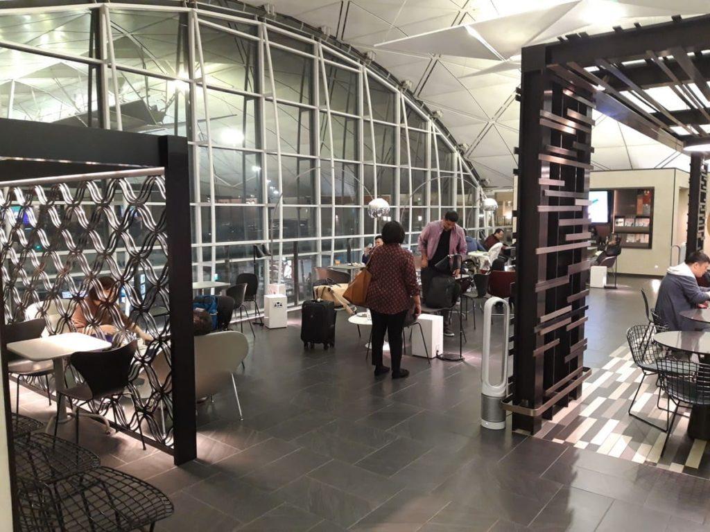 AMEX Centurion Lounge Hongkong Loungebereich
