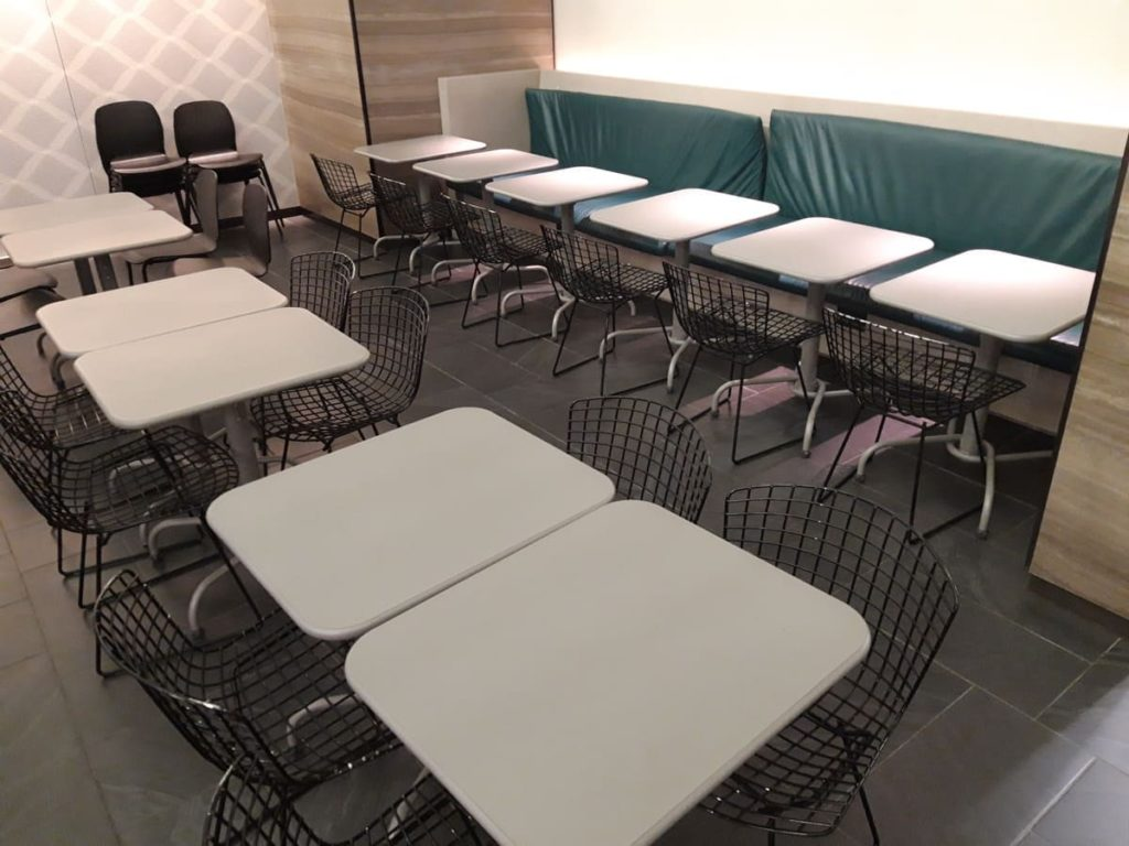 AMEX Centurion Lounge Hongkong Speisebereich