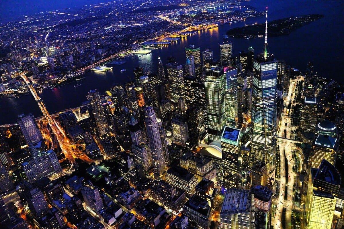Mit Meilen nach New York