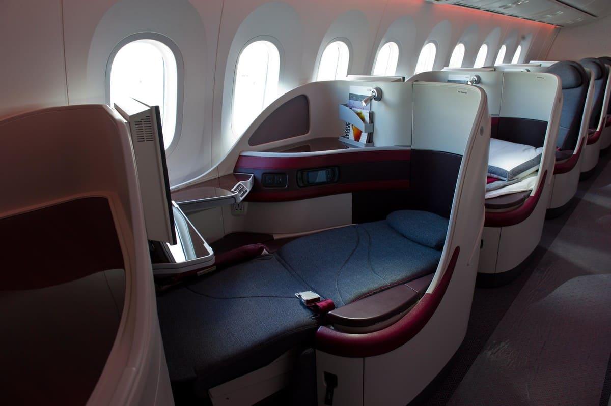 Qatar Airways Business Class B787