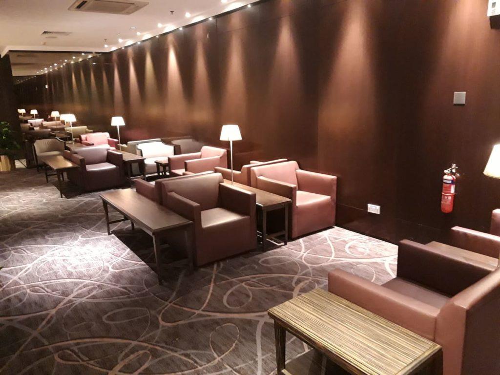 Silverkris Business Lounge Singapore Changi T2