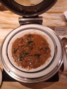 Silverkris Lounge Singapore Speisenauswahl